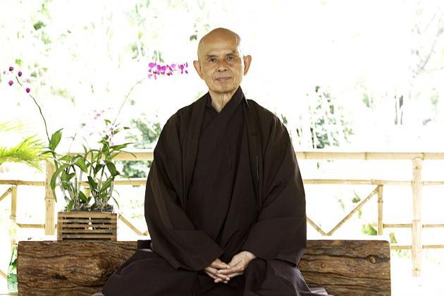 Thich Nhat Hanh foto - Yoga, Meditação e Terapia