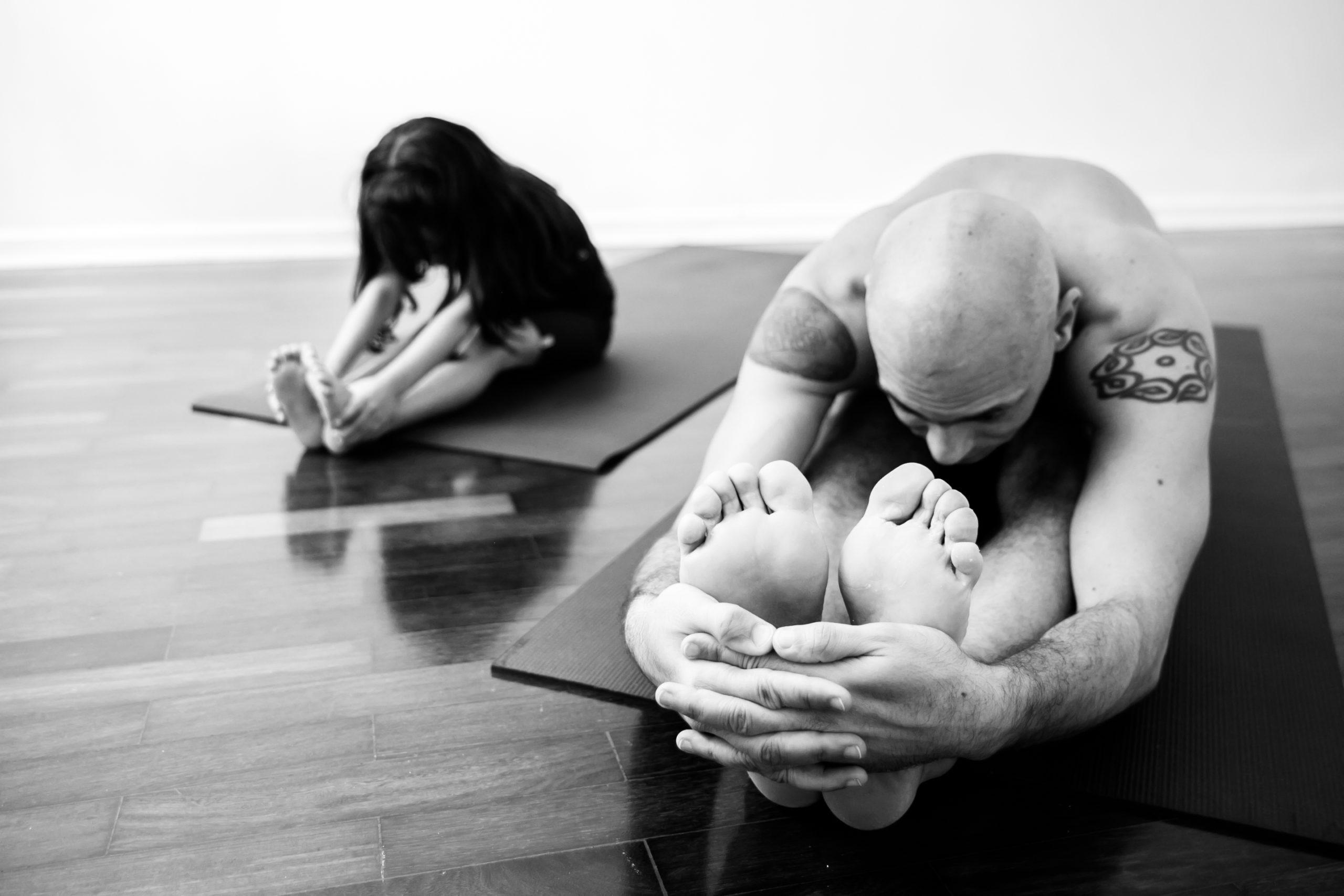 Um Bom Aluno de Yoga