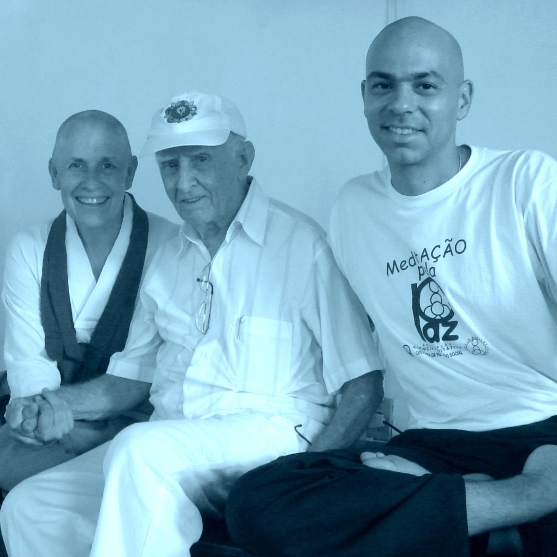 Monja Coen e Hermogenes Site - Yoga, Meditação e Terapia